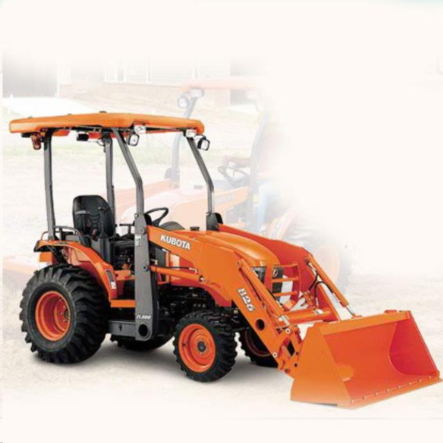 Where to find TRACTOR, KUBOTA B-26 4WD LOADER in Cottonwood