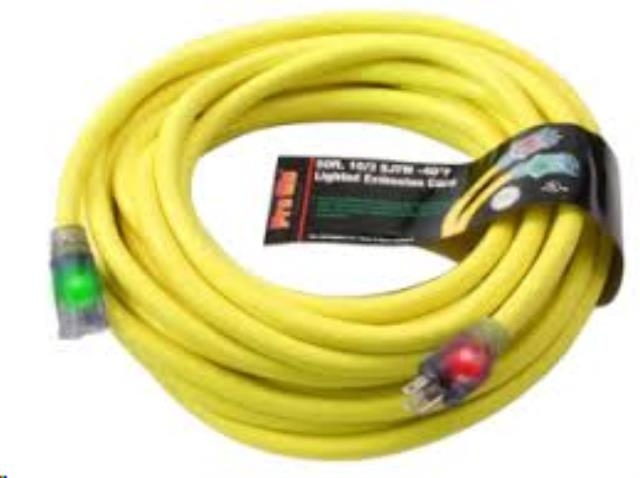 Where to find EXTENSION CORD, PRO GLO  50  YELLOW in Cottonwood