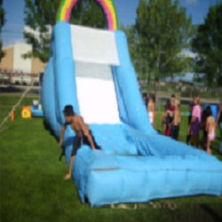 Where to find RAINBOW WATER SLIDE in Cottonwood